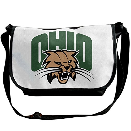 SHEAKA Ohio University Bobcats Men's&Women's Sports Hiking Outdoor Students School Gym Workout Travel Journey Business Trip Single Shoulder Backpacks