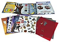 Disney Marvel Guardians of the Galaxy Star Lord and Drax Drawmaster Kids Drawing Set (72 Piece), Small