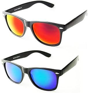 X-CRUZE 3er Pack X01 Nerd Sonnenbrillen polarisierend Vintage Retro Style Stil Unisex Herren Damen Männer Frauen Brillen Nerdbrille Nerdbrillen - grau-transparent matt - Set N - Ksfxydw