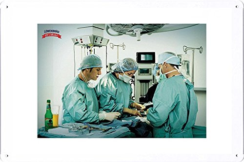 tin-sign-metal-poster-plate-8x12-of-lowenbrau-surgery-by-food-beverage-decor-sign