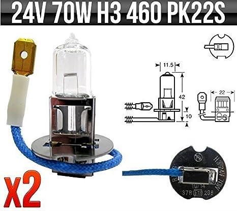 Ring R460 24v 70w H3 PK22s Halogen Headlamp Bulb archives