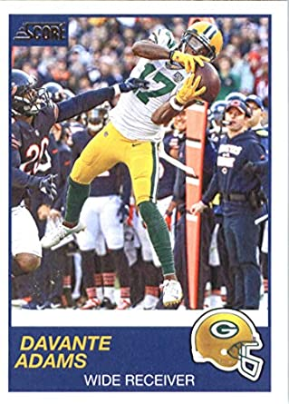 08d24234 Amazon.com: 2019 Score #225 Davante Adams Green Bay Packers Football ...