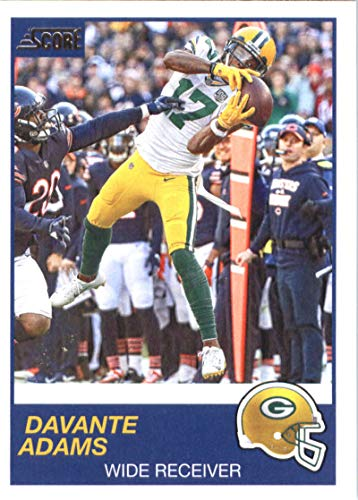 2019 Score #225 Davante Adams Green Bay Packers NFL Football Trading Card