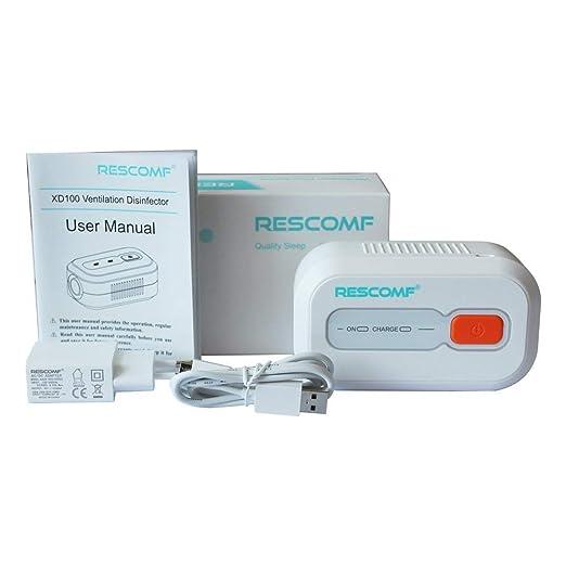 Amazon.com: Zorvo CPAP - Limpiador de desinfección de Ozono ...