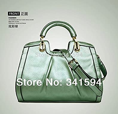 8f6b6e9a165b Fashion luxury PU leather handbag women s brand designer shoulder new 2016  cowhide cross-body tote handbag bag famous brands  Amazon.co.uk  Shoes    Bags