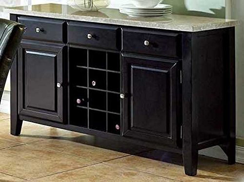 Top Buffet Sideboard Server (Steve Silver Company Monarch Server, 56
