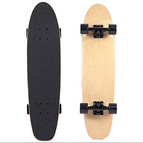 SKATEBOARD Dos Pies Descalzos El Crucero De La Madeja Bambú Serie Premium Longboard Skate Doble Rabudo