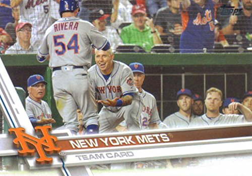 New York Mets 2017 Topps Complete Mint Hand Collated Team Set with David Wright, Matt Harvey and Yoenis Cespedes Plus