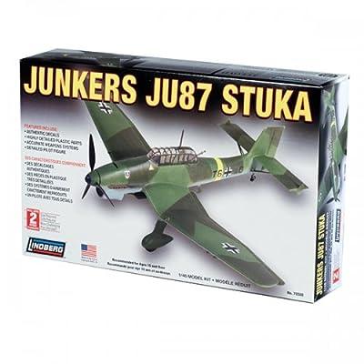 Lindberg Junkers JU87 STUKA: Toys & Games