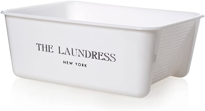 The Laundress - Wash Tub Basin, Removable Plug to Drain Water, Handwashing, Presoaking & Dish Washing