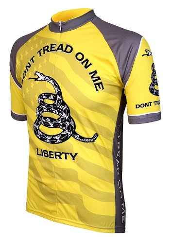 Amazon.com  Don t Tread on Me Mens Cycling Jersey bike bicycle ... 4eae7e1a2