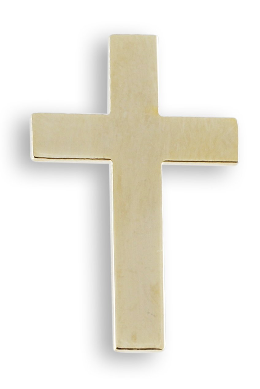 Cross Gold Plated Lapel Pin- Value Pack (100 Pins)