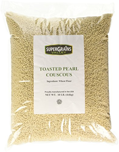 Toasted Pearl Couscous - 10lb Bag ()