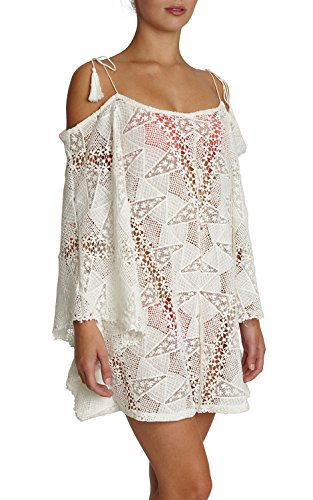 Eberjey Women's Guajira Esemeralda Cover up, Cloud, ()