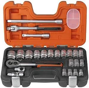 BAHCO S-240 - Juego Llave Vaso 1/2 24P: Amazon.es: Bricolaje y herramientas
