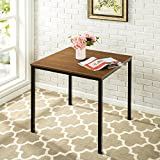 Zinus Umer Modern Studio Collection Soho Square Table, Brown