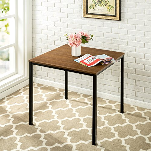 (Zinus Umer Modern Studio Collection Soho Square Table, Brown)