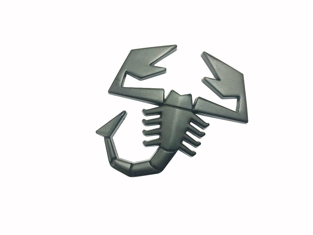 Dian Bin Scorpion Scorpid Black Metal Plating Sticker Vehicle-logo Badge Emblem