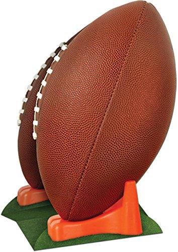 Beistle 50040 1-Pack 3D Football Centerpiece, 11-Inch