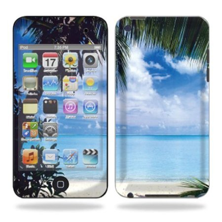 Protective Vinyl Skin Decal Cover for iPod Touch 4G 4th Generation Sticker Skins - Beach Bum