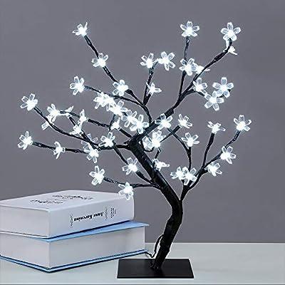 SakuraVeilleuse À Décoratives Led Lampes Arbres Pour Lumières kXuPOiZ