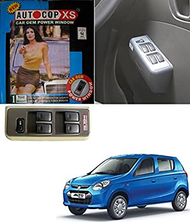 Carsaaz Autocop 4 Door Power Window For Maruti Alto 800 With Automatic Roll Up Relay Beige Amazon In Car Motorbike