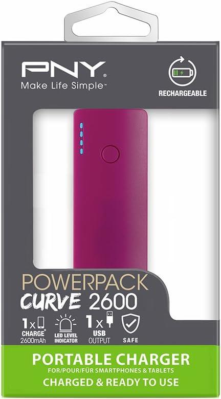 Pny Curve Portable External Backup Battery Charger Elektronik