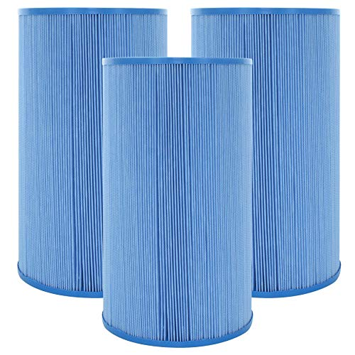 Guardian Filtration Products, Replacement Pool Spa Filter, for Unicel C-4335, Filbur FC-2385, Pleatco PRB35-IN, 3 Pack