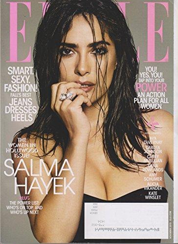elle november 2015 salma hayek the women in hollywood issue