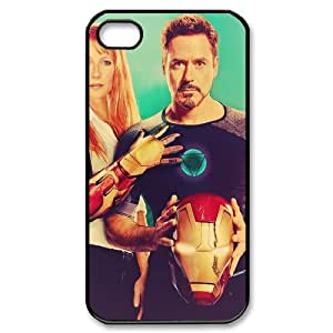 Iron Man SANDY0539971 Phone Back Case Customized Art Print Design Hard Shell Protection Iphone 4,4S