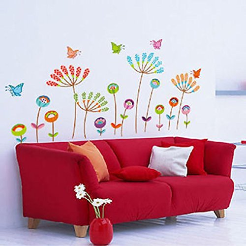 Flower Butterfly Removable Art Wall Stickers Vinyl Decal Mural Home Decoration - Burglar Bill Costume