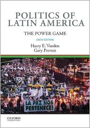 ;;NEW;; Politics Of Latin America: The Power Game. Arreaza Perfeito Ecologia awards Welcome calor