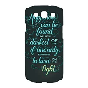 SamSung Galaxy S3 9300 cell phone cases White Harry Potter quotes fashion phone cases UIWE593435