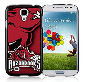 Southeastern Conference SEC Football Arkansas Razorbacks 2 Black Fantastic Design Samsung Galaxy S4 I9500 Cover Case