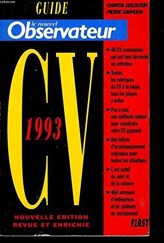 Guide nouvel observateur cv 1993 Sahnoun Pierre