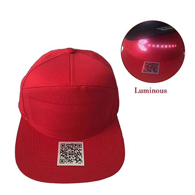 Vuffuw Gorra de béisbol con luz LED, Manos Libres, Gorra de ...