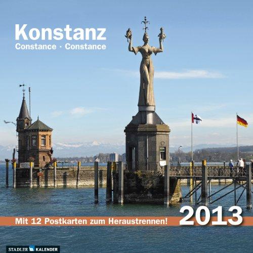 Konstanz 2013: Postkarten-Tischkalender