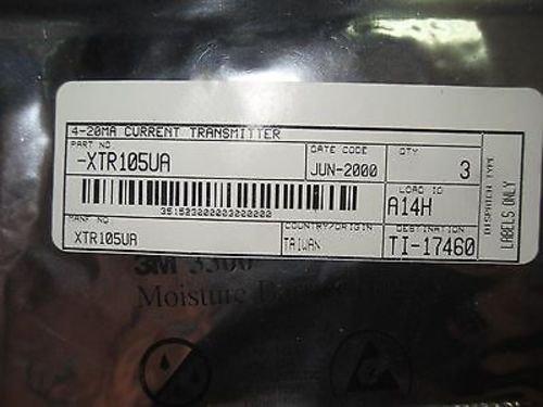 3 New Xtr105Ua 4-20Ma Current Transmitter (Rr21-1)
