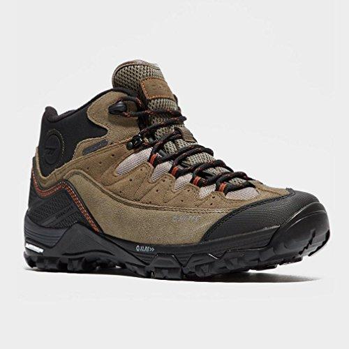 HALLO TEC Ox Belmont Low Wasserdicht Männer-Walking-Schuhe, Braun, 46