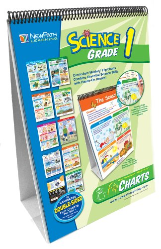 Price comparison product image NewPath Learning 10 Piece Science Curriculum Mastery Flip Chart Set, Grade 1