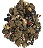 100 Pieces Chocolate Slime Beads Cute Chocolate Charms Resin Ornaments Accessories for Homemade Slime DIY Phone Case & Hair Clips (100 Multi)