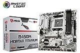 MSI B450M Mortar Titanium Computer Motherboards
