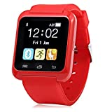 Samsung Galaxy J7 (2016) Compatible U8 Bluetooth Smart Watch / Wrist Watch / Wearable Watch with Sim Card Support for High Quality Calling | Facebook and WhatsApp | Touch Screen | All functions of Smartphones | Smartwatch Phone with Camera TF SIM Card Slot | Compatible with 2G 3G 4G Android Mobile Phones & IOS Samsung Vivo Sony Gionee Xiaomi Redmi MI Lenevo Motorola Oppo HTC Google Micromax Intex and all smartphones