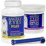 chicken angel eyes - Angels' Eyes PLUS Tear Stain Bundle, Powder Chicken 75 gram, Wipes, Scoop
