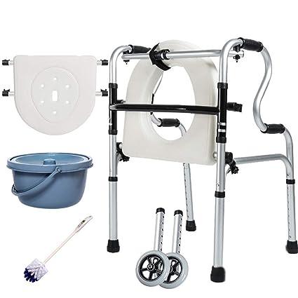 Andador plegable para personas mayores, 8 Lima ajustable en ...