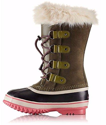 Sorel Joan Of Arctic Boot - Girls' Nori/Winter Rose, 3.0