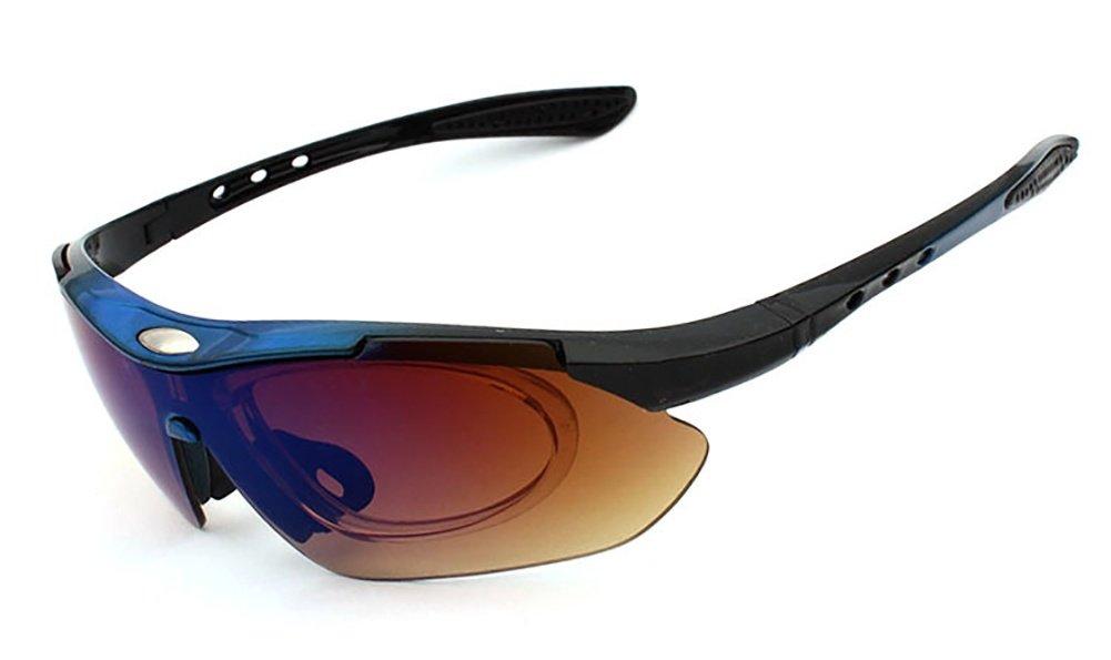 2a3f1b2629f841 CDSS Polarized Cycling Sunglasses Lunettes de V é lo de Montagne 5 Lentille  UV400 Cyclisme Lunettes ...