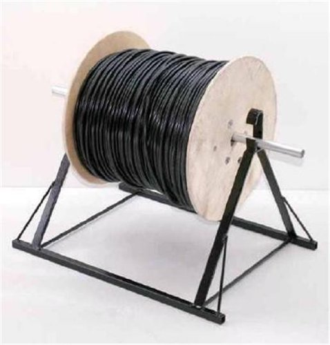 EZL-18/24 EZY-LOAD WIRE REEL CABLE HOLDER STAND CADDIE STRONG HEAVY DUTY STEEL - Wire Spool Reel