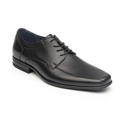 Talla Agujeta Hombre Para Zapato Flexi Negro Con 31 Yw11Sq