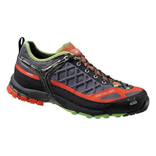 Salewa Men's MS Firetail EVO GTX Approach Shoe, Smoke/Grenadine, 10.5 M US